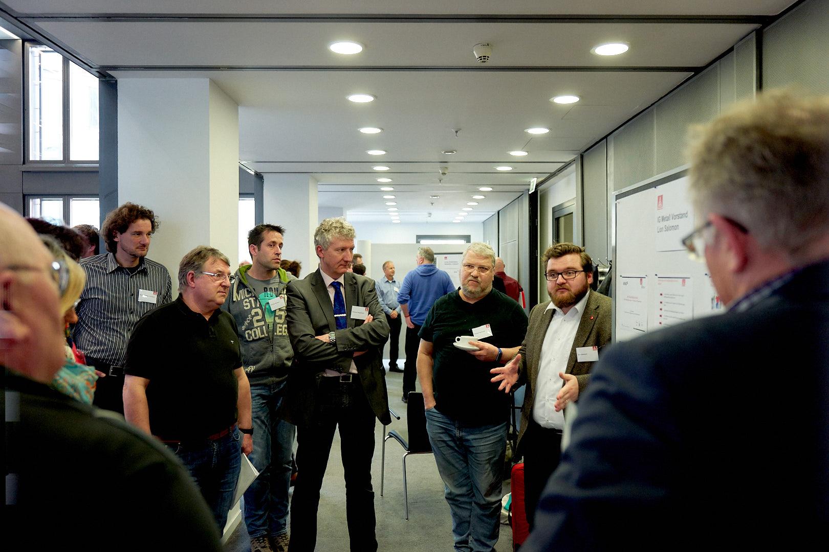Lion Salomon, Ressort Arbeitsgestaltung und Gesundheitsschutz, IG Metall Vorstand