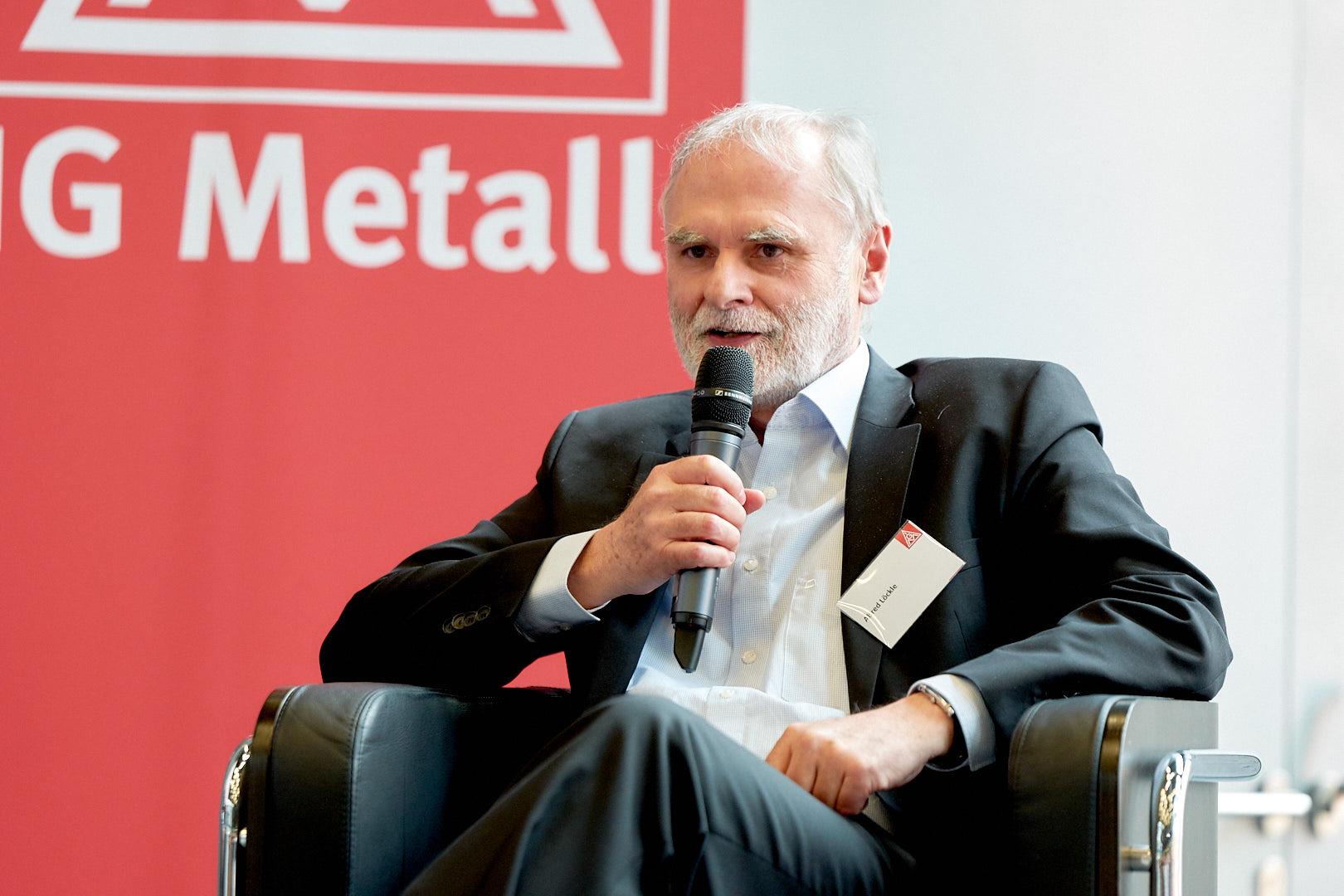Alfred Löckle, Gesamtbetriebsrats-Vorsitzender der Robert Bosch GmbH
