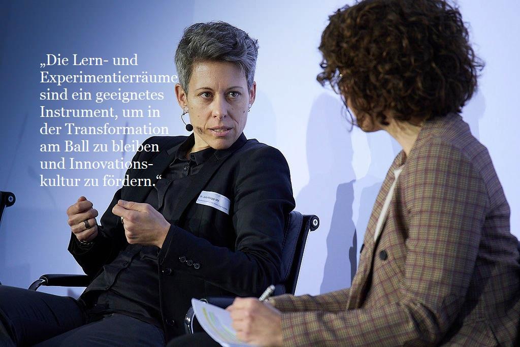 Dr. Julia Borggräfe, Bundesministerium für Arbeit und Soziales, Abteilungsleiterin Digitalisierung und Arbeitswelt