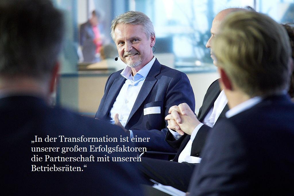 Dr. Klaus Rüffler, DB Systel GmbH, Geschäftsführer Personal