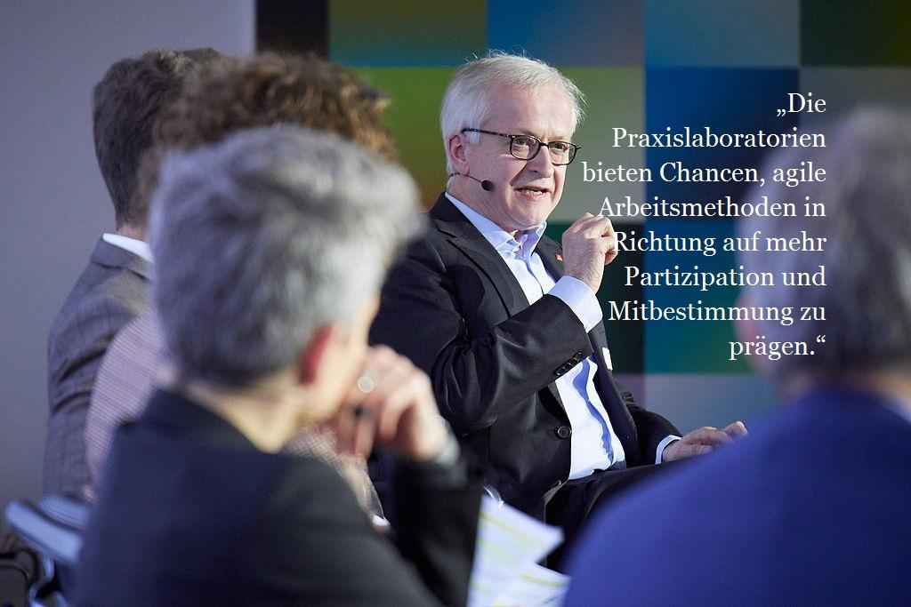 Dr. habil. Hans-Jürgen Urban, IG Metall, geschäftsführendes Vorstandsmitglied